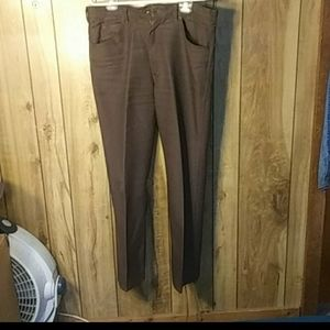 Brown jeans/slacks